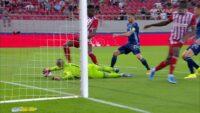 Ολυμπιακός – Σλόβαν: Με αυτόν τον τρόπο έκανε το 2-0… (VIDEO)
